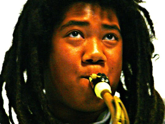 Miles Hudgins' music is influenced by jazz, hip-hop