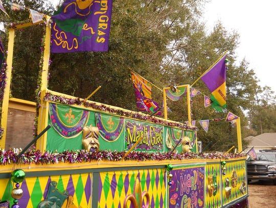 The city of Milton has a long history of hosting Mardi