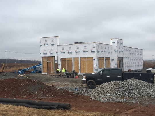 Clarksville's seventh Burger King is taking shape in