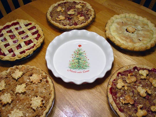 Susan Schrager makes assorted pies through her Merry