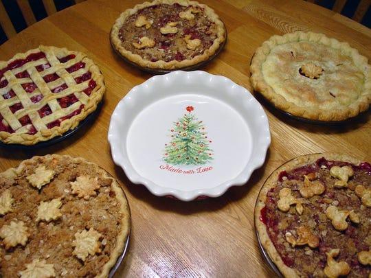 Susan Schrager makes assorted pies through her Merry