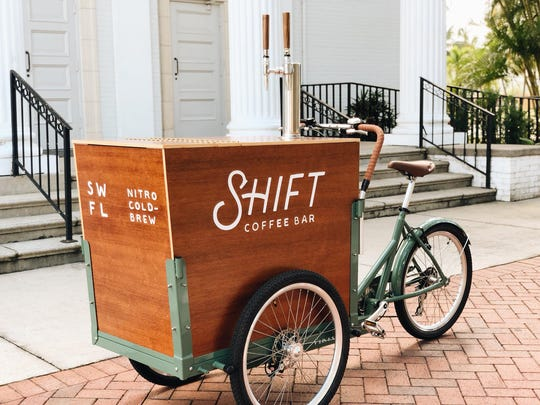 Shift Coffee Bar operates at events throughout Fort Myers and Cape Coral.