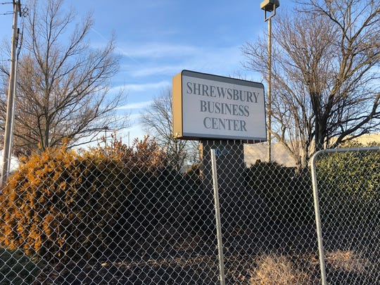 Workers will tear down the old Shrewsbury Business Center on Shrewsbury Avenue in Shrewsbury to make way for a ShopRite supermarket.