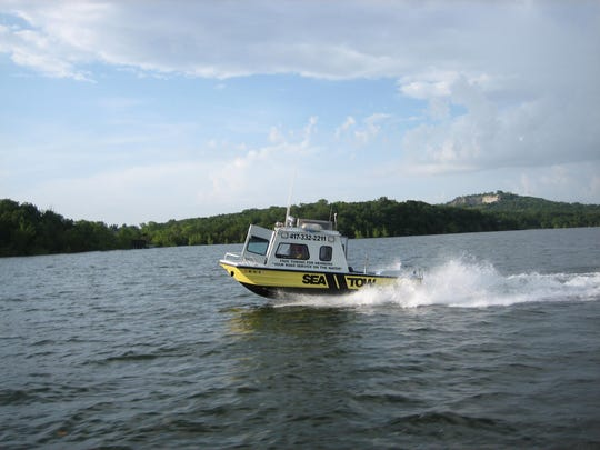 A Sea Tow boat can be a welcome sight if your boat is broken down at Table Rock Lake.
