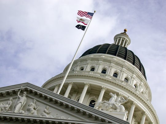 The California Capitol in Sacramento