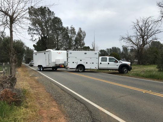 A Shasta County bomb squad returns Wednesday to a home