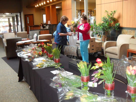 The Santiam Hospital Auxiliary's annual Tulip Sale