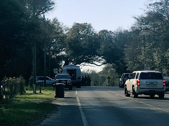 ECSO is on scene as a suspect had barricaded himself