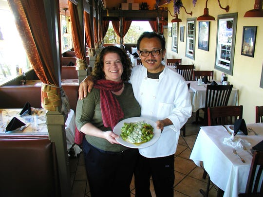 Melina Maack and husband Camillo Danh co-own La Piazza Ristorante Italiano in Tulare. They will have been at the same location 13 years in May.