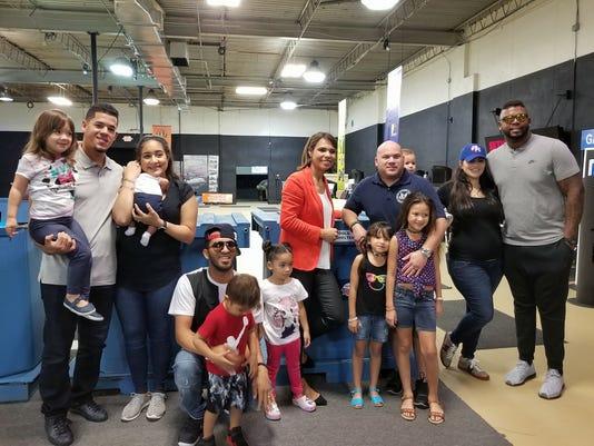 Claribel Bocanegra and friends in Puerto Rico
