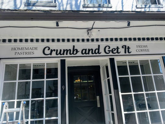 Crumb and Get It will open on April 9 at 9 Carlisle
