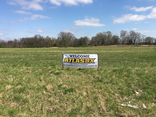 The 40-acre site that will be home to the Atlas BX