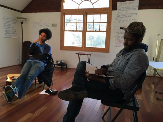 """In 2016, Uniform Justice put together a play, """"Dream on Church Street."""" The play, along with training sessions for police officers, and workshops in the Montclair School District, are ways Uniform Justice seeks to strengthen relations between police officers and community members."""