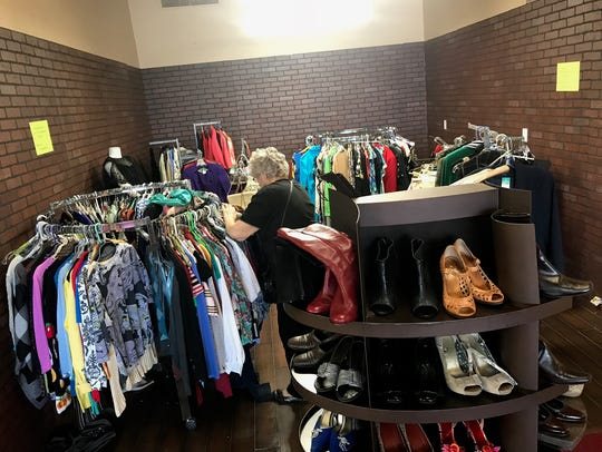 Items that remained after the Faith Fashion Boutique