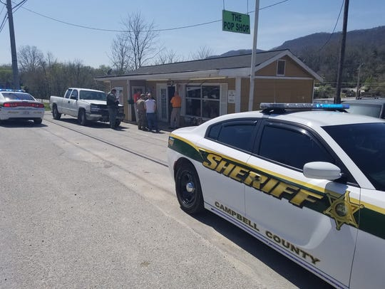 "The Campbell County Sheriff raided a ""pop-shop"" in"