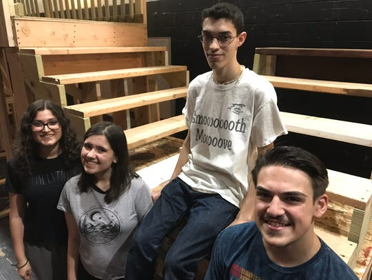"Mahopac High School presents ""The Addams Family""; 7"