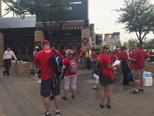 Educators and supporters will march from Chase Field