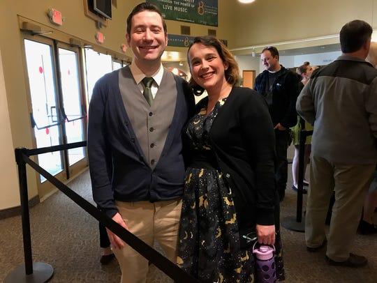 Binghamton residents Tyler Poole, 35, and Kimberly