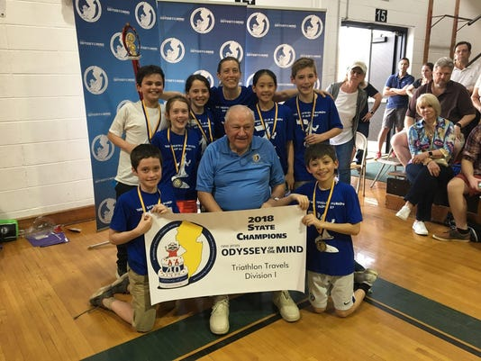 Two Westfield teams advance to world finals for Odyssey of the Mind 2018