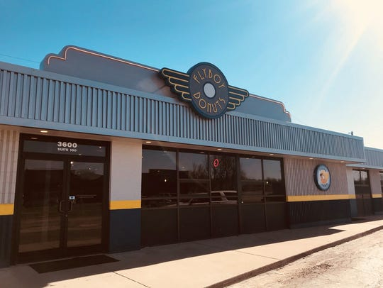 The east side location of Flyboy Donuts opened for business this spring.