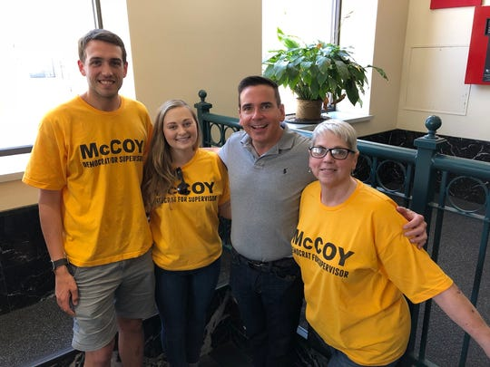 Iowa Sen. Matt McCoy was accused this week of campaign misconduct at the Polk County Election Office.