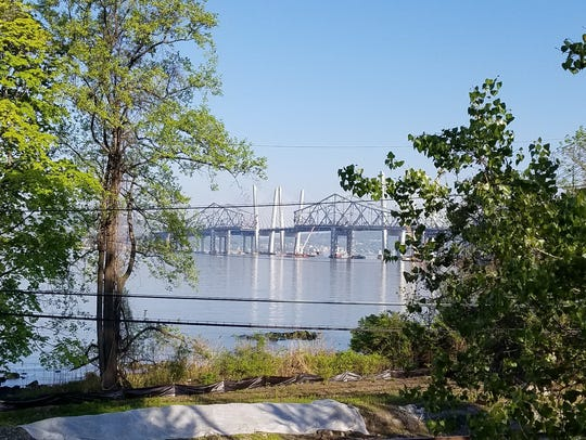 The Tappan Zee Bridge, with the Gov. Mario M. Cuomo