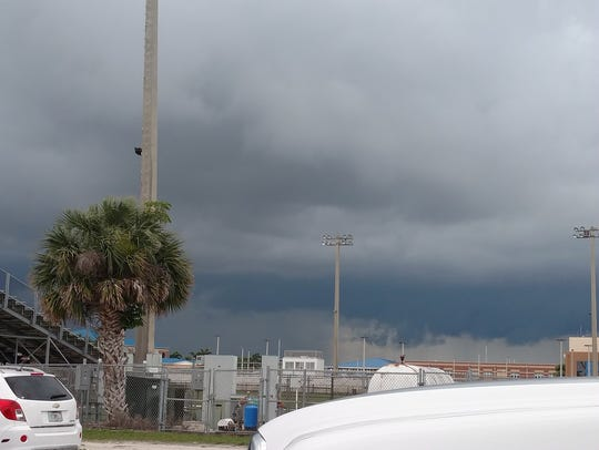 Threatening weather approaches Martin County High School