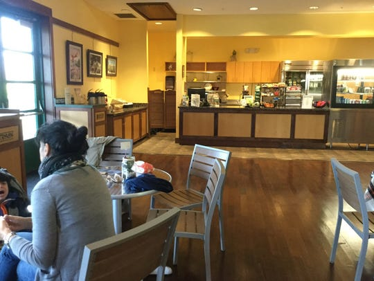 The gallery cafe inside Corkscrew Swamp Sanctuary offers