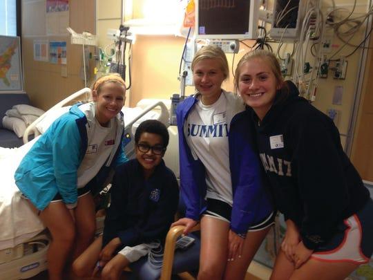 Jaden Woodard spent 50 days at Children's Hospital