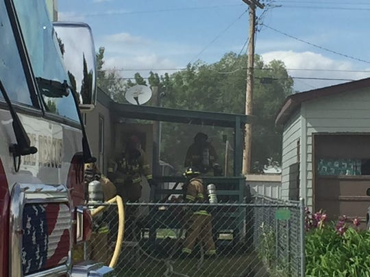 Great Falls Fire Rescue crews are on the scene of a house fire at 3rd Avenue NW.