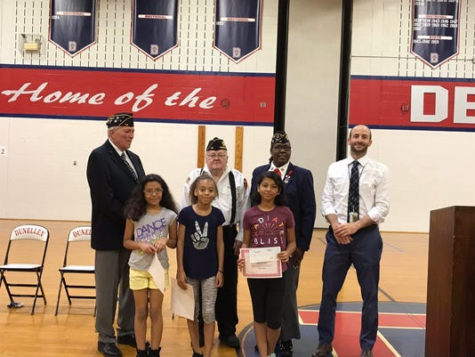 Memorial Day assembly held at Faber School PHOTO CAPTION