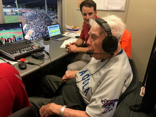 John Appleyard, 95, has signed a five-year, no-cut