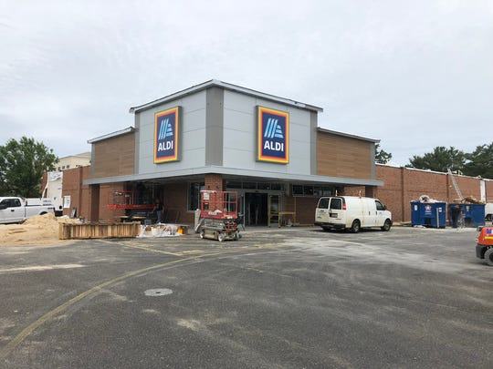 Aldi is renovating its store on Route 37 in Toms River.