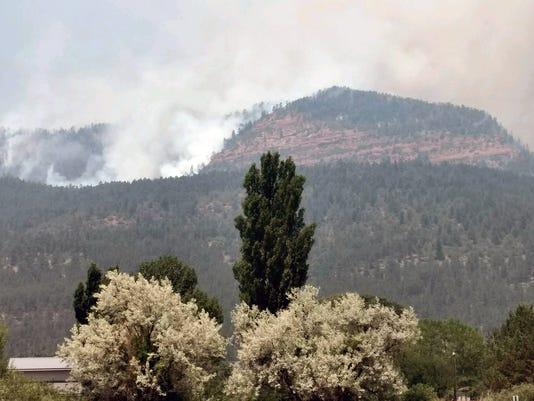 416 Fire north of Durango
