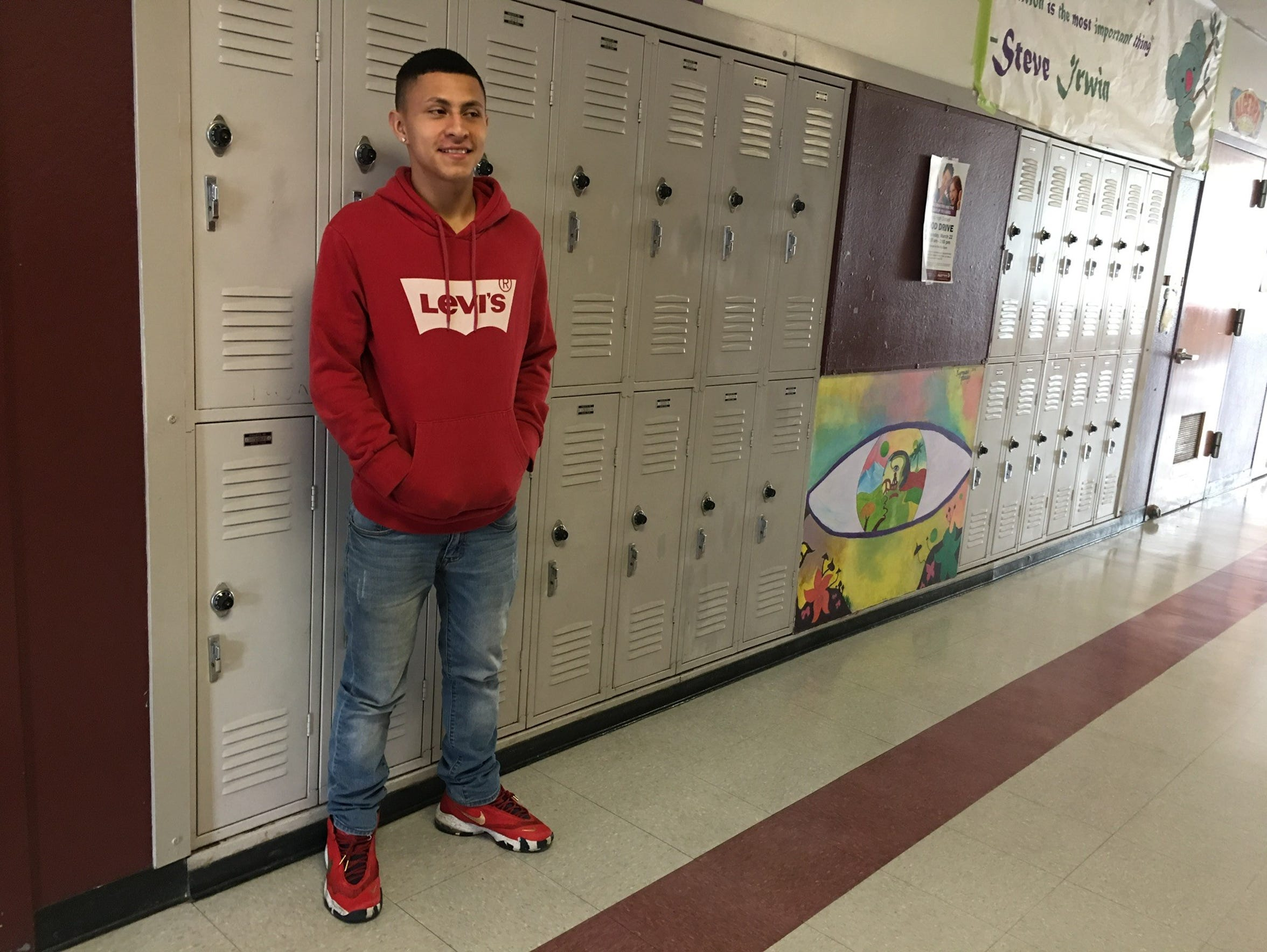 Justin Fuentes, a 2018 Sparks High Graduate, was an eighth-grader in 2013 when a classmate brought a gun to Sparks Middle School and shot and killed a teacher, shot and injured two students and killed himself.