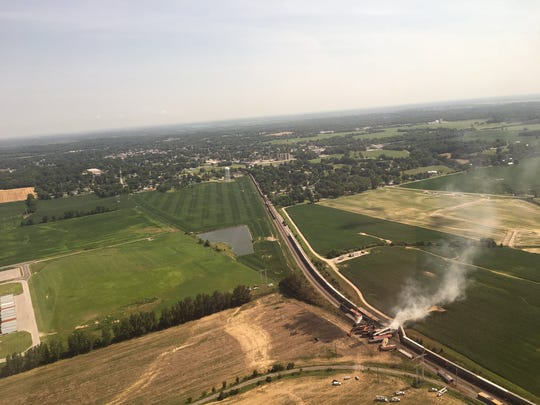 A train derailment in Princeton Sunday night closed U.S. 41 in both directions and caused a mandatory evacuation.