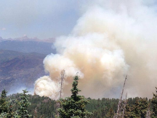416 Fire near Durango, Colorado, expected to grow as temperatures rise