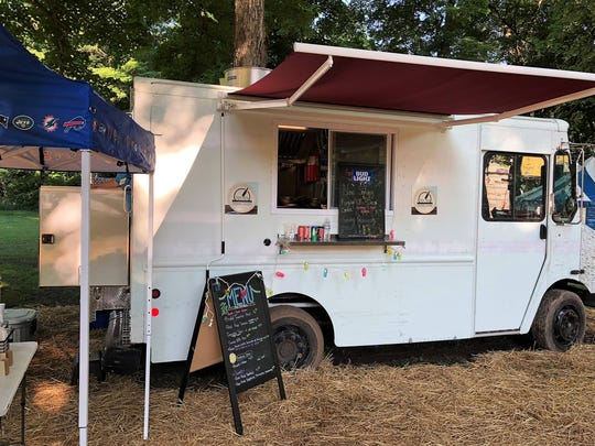 The Tick Tock Catering and Food Truck premiered at the 46th annual Indiana Fiddlers Gathering on Sunday.