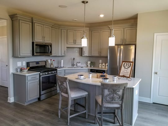 Regent Homes is building 200 townhomes as well as live-work residences in Burkitt Commons, located off Nolensville Road on the Davidson County side of Nolensville. Prices start around $289,000.