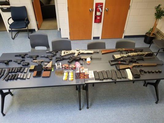 Hillburn gun arrests