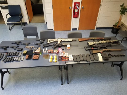 Three New Jersey men were arrested in Hillburn on July 8, 2018, and accused of illegally possessing weapons while target shooting.