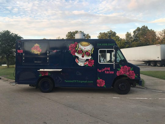 Twisted Tacos food truck.
