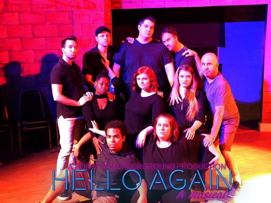 "Forst Inn Arts Collective presents its first Underground offering ""Hello Again!,"" a modern musical adaptation of La Ronde, at 7 p.m. Aug. 8-16 at the historic Forst Inn in Tisch Mills."