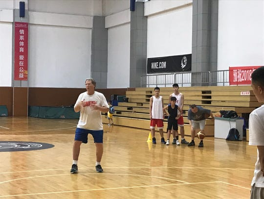 Mark Newlen spent six weeks in China this summer teaching
