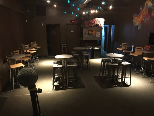 """The view from the stage at """"Live! from the Haven,"""" the new house series at Lagond School of Music that kicks off Sept. 27 with George Porter Jr. & Runnin' Pardners. The venue seats just 50, making for a remarkably intimate concert experience."""