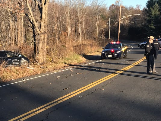 Serious accident Route 45 and South Mountain Road