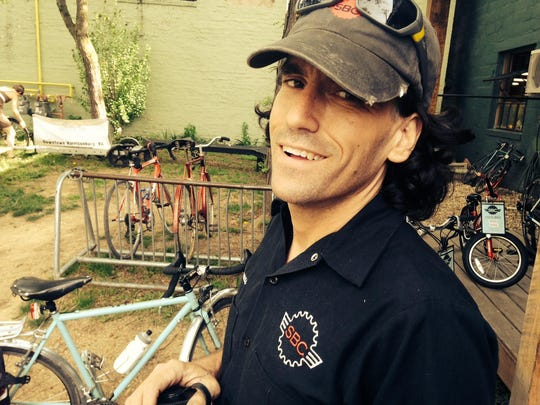 Thomas Jenkins, owner of Shenandoah Bicycle Company