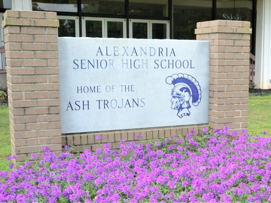 ANI ASH principal Alexandria Senior High School principal Duane Urbina is a semi-finalist for the state high school principal of the year. Thursday, April 2, 2015.-Melinda Martinez/mmartinez@thetowntalk.com