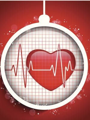 Heart-related emergencies spike during the holiday season.