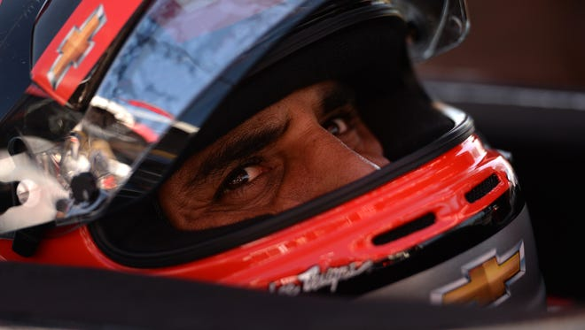 Juan Pablo Montoya says he's trying to be patient in re-learning open-wheel racing.